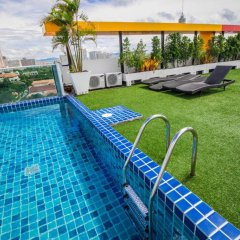 Отель Art on The Hill by Pattaya Sunny Rentals бассейн