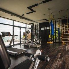 Гостиница M1 club Одесса фитнесс-зал фото 4