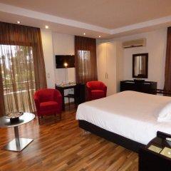 Отель Athens Habitat 3* Стандартный семейный номер с различными типами кроватей