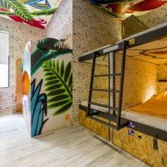 Chillout Hostel Zagreb Кровать в общем номере с двухъярусной кроватью фото 17