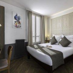 Отель Contact ALIZE MONTMARTRE 3* Улучшенный номер с двуспальной кроватью фото 6