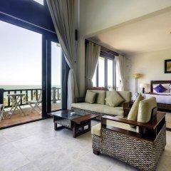 Отель Lotus Muine Resort & Spa 4* Бунгало с различными типами кроватей фото 9