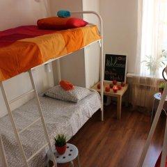 Хостел Online Кровать в общем номере с двухъярусной кроватью фото 15