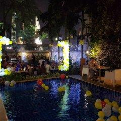 Dinso Mon Hotel Бангкок помещение для мероприятий