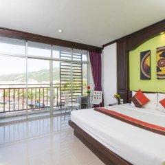Отель Patong Buri 3* Улучшенный номер с различными типами кроватей фото 5