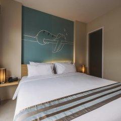 TIRAS Patong Beach Hotel 2* Улучшенный номер с различными типами кроватей фото 4