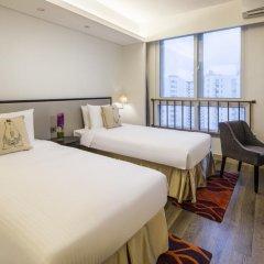 Отель Somerset Xu Hui Shanghai комната для гостей фото 3
