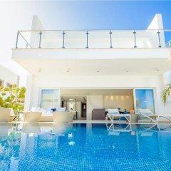 Отель Oceanview Villa 100 Кипр, Протарас - отзывы, цены и фото номеров - забронировать отель Oceanview Villa 100 онлайн бассейн фото 2