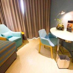 Grand Scenaria Hotel Pattaya 4* Номер Делюкс с различными типами кроватей фото 8