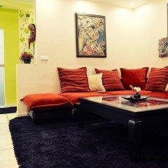 Апартаменты The Red Apartment комната для гостей фото 2
