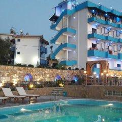 Отель Lukova Holidays Албания, Саранда - отзывы, цены и фото номеров - забронировать отель Lukova Holidays онлайн бассейн фото 3