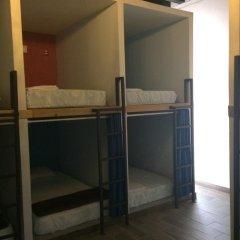 Capsule Hostel Mexico City Кровать в общем номере