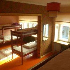 Euphoria Hostel Кровать в общем номере с двухъярусными кроватями