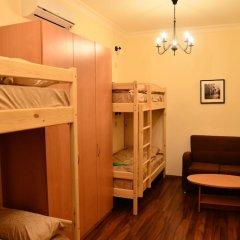 Хостел Белокоричи Кровать в общем номере фото 10