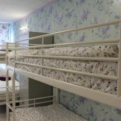Хостел Ника-Сити Кровать в женском общем номере с двухъярусными кроватями фото 12