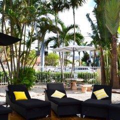 Beachside Apartment Hotel гостиничный бар
