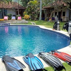Отель Relax Beach Resort Candidasa бассейн фото 3