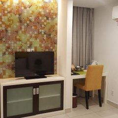 Minh Khang Hotel 3* Номер Делюкс с различными типами кроватей фото 5