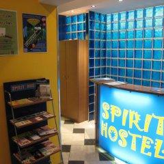 Spirit Hostel and Apartments интерьер отеля