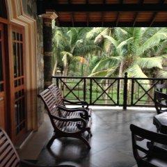 Отель Warahena Beach Hotel Шри-Ланка, Бентота - отзывы, цены и фото номеров - забронировать отель Warahena Beach Hotel онлайн балкон