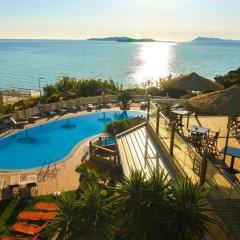 Отель Terezas Hotel Греция, Корфу - отзывы, цены и фото номеров - забронировать отель Terezas Hotel онлайн бассейн фото 3