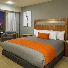 Отель Real Inn Guadalajara Expo 4* Номер Делюкс с различными типами кроватей фото 2