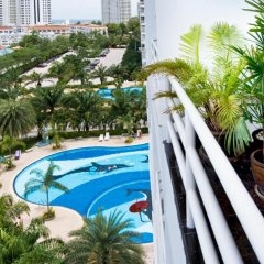 Апартаменты Jomtien View Talay 1 Studio Apartment Паттайя бассейн