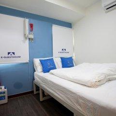 Отель K-GUESTHOUSE Insadong 2 2* Стандартный номер с двуспальной кроватью фото 3