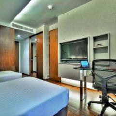 Отель Galleria 10 Sukhumvit Bangkok by Compass Hospitality 4* Стандартный номер с двуспальной кроватью фото 9
