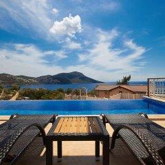 Villa Lycia View by Akdenizvillam Турция, Калкан - отзывы, цены и фото номеров - забронировать отель Villa Lycia View by Akdenizvillam онлайн бассейн