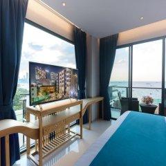 Отель Deep Blue Z10 Pattaya Стандартный номер с различными типами кроватей фото 16