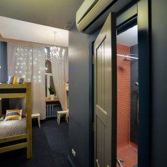Hotel & Hostel Vstrechi na Arbate Номер с общей ванной комнатой с различными типами кроватей (общая ванная комната) фото 2