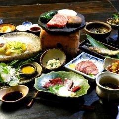 Отель Ryokan Fukumotoya Минамиогуни питание