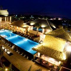 Отель Riyuegu Hotsprings Resort балкон