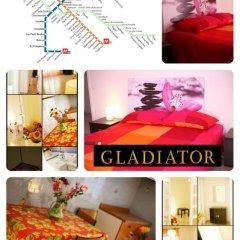 Апартаменты Gold Gladiator Apartment питание