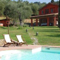 Отель Villa Al Valentino Массароза бассейн