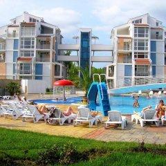 Отель Bulgarienhus Elit Apartments Болгария, Солнечный берег - отзывы, цены и фото номеров - забронировать отель Bulgarienhus Elit Apartments онлайн пляж