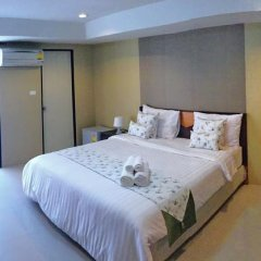 Отель Riski Residence Charoen Krung 2* Стандартный номер с различными типами кроватей фото 4