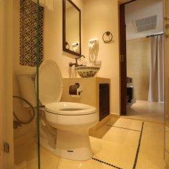 Отель Dewan Bangkok 3* Улучшенный номер с различными типами кроватей фото 4