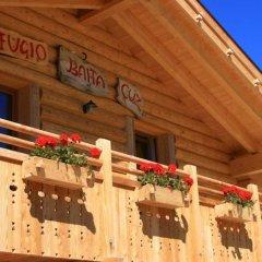Отель Rifugio Baita Cuz Долина Валь-ди-Фасса балкон