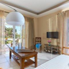 Апартаменты Nymphes Luxury Apartments комната для гостей фото 4