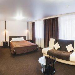 Гостиница Авиатор Студия двуспальная кровать фото 4