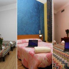 Hotel Brasil Milan Номер с общей ванной комнатой с различными типами кроватей (общая ванная комната) фото 6