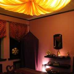 Гостиница Лесная поляна комната для гостей фото 5