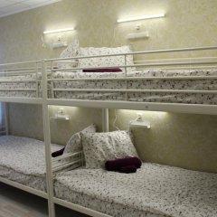 Хостел Ника-Сити Кровати в общем номере с двухъярусными кроватями фото 30