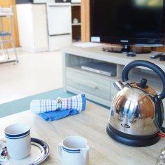 Отель Whanganui River Top 10 Holiday Park 3* Шале с различными типами кроватей фото 4