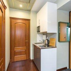 Апартаменты Four Squares Apartments on Tverskaya Апартаменты с двуспальной кроватью фото 7