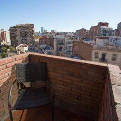 Отель Catalonia Albeniz Барселона балкон