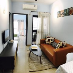 Апартаменты Shenzhen Wozhan Apartment K K Mall Улучшенные апартаменты с различными типами кроватей фото 16