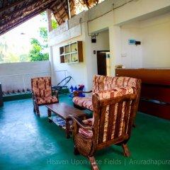 Отель Heaven Upon Rice Fields Шри-Ланка, Анурадхапура - отзывы, цены и фото номеров - забронировать отель Heaven Upon Rice Fields онлайн интерьер отеля